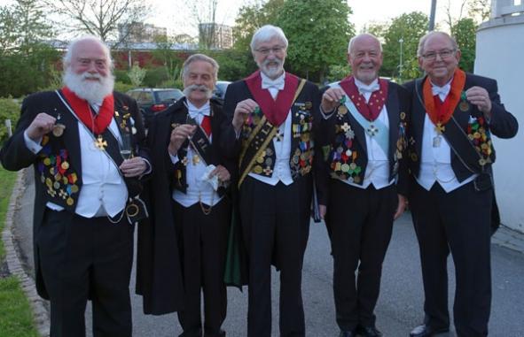 40-års-medaljörer